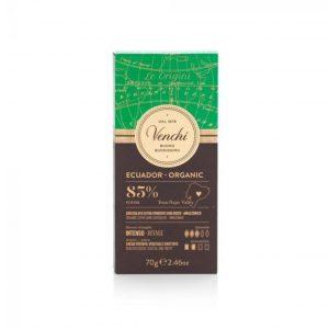 Tavoletta di cioccolato Fondente Ecuador 85% Venchi