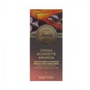 Tavoletta di cioccolato fondente all'arancia Venchi