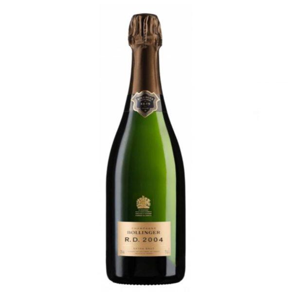 champagne extra brut bollinger r.d 2004
