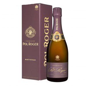 champagne pol roger rosè 2012