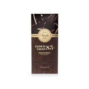 Cioccolato Fondente cuore cacao 85