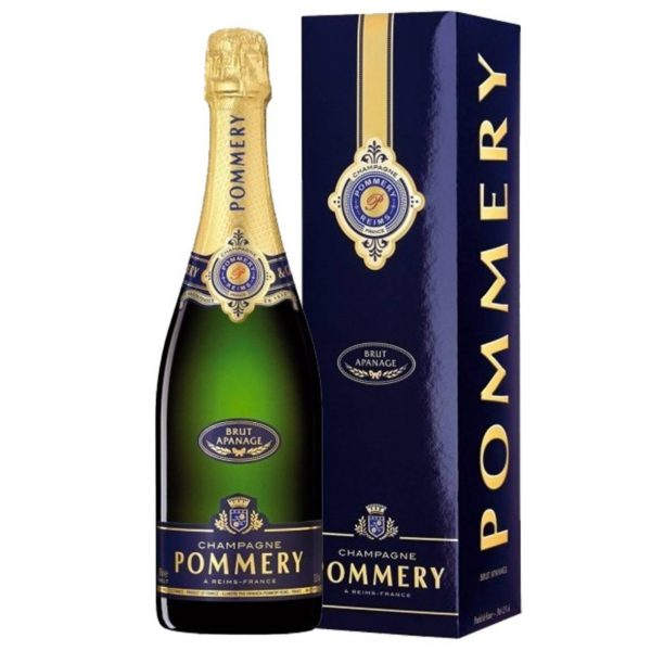 pommery champagne brut apanage
