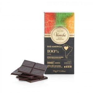 cioccolato fondente 100% venchi sud america