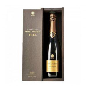 champagne bollinger rd 2007 astuccio